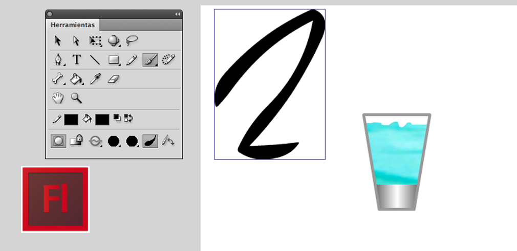 herramientas de dibujo en flash  Lc tutorial  Tutoriales de Adobe