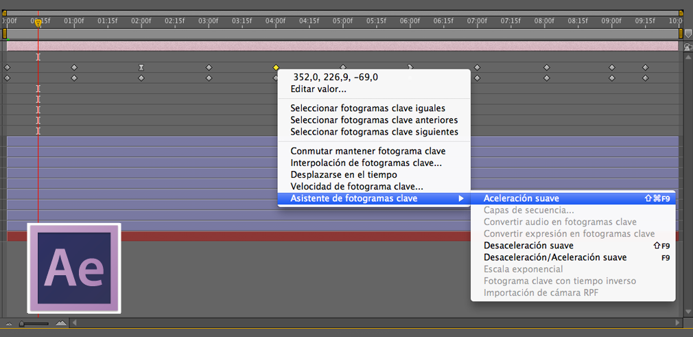 asistente de fotogramas clave en after effects | Lc tutorial ...