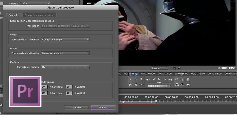 ajustes de proyecto y secuencia en adobe premiere | Lc tutorial ...