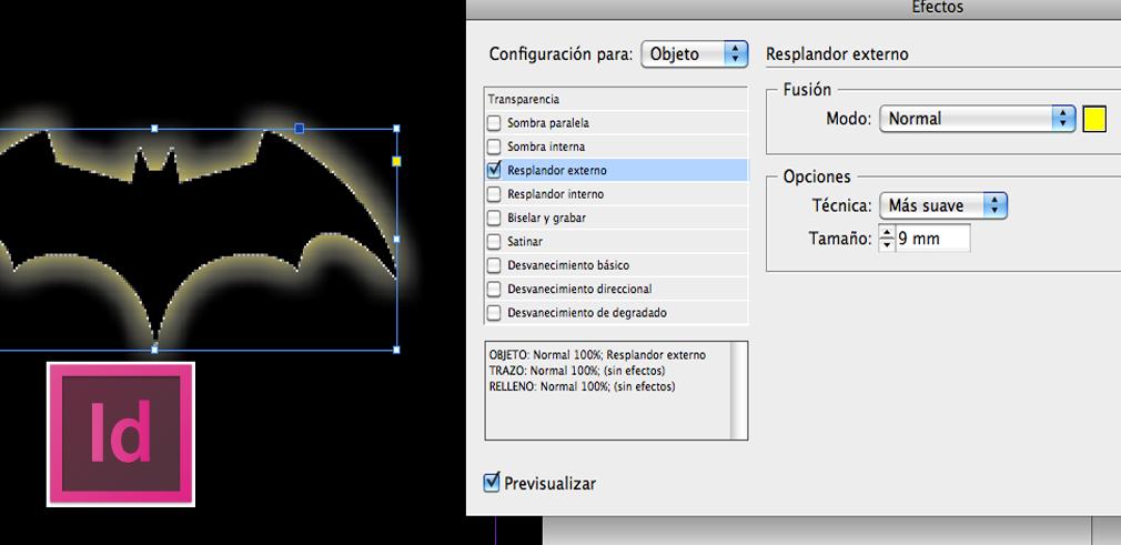 panel de efectos en adobe indesign | Lc tutorial | Tutoriales de Adobe